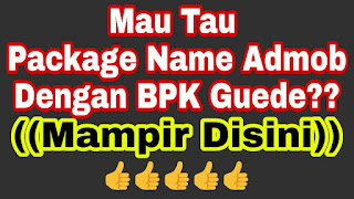 Package name dengan nilai klik BPK tinggi