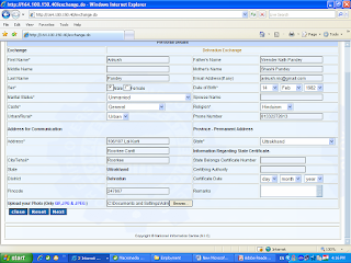 Application form employment exchange  Uttarakhand