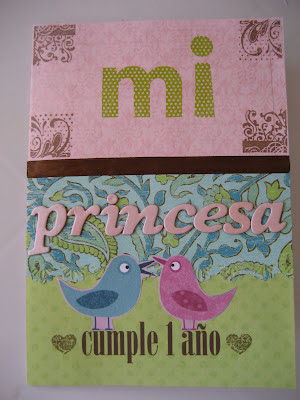 Tarjeta de cumpleaños infantil pop up. Pop-up birthday card. Carte d'anniversaire pop-up