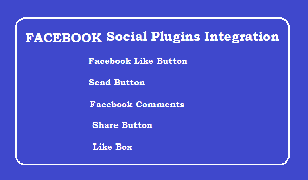 Facebook Social Plugins Integration in Website