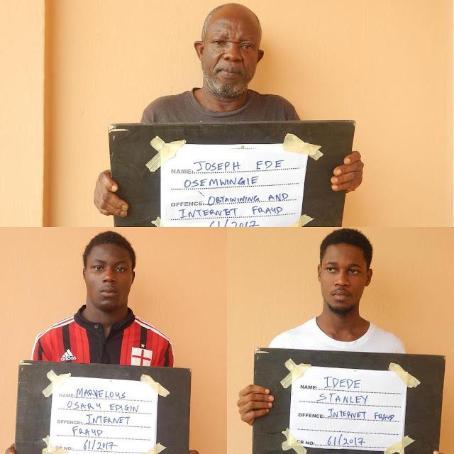N120m Fraud: EFCC Nabs 3 Internet Fraudsters, Alerts Hardworking Nigerians .
