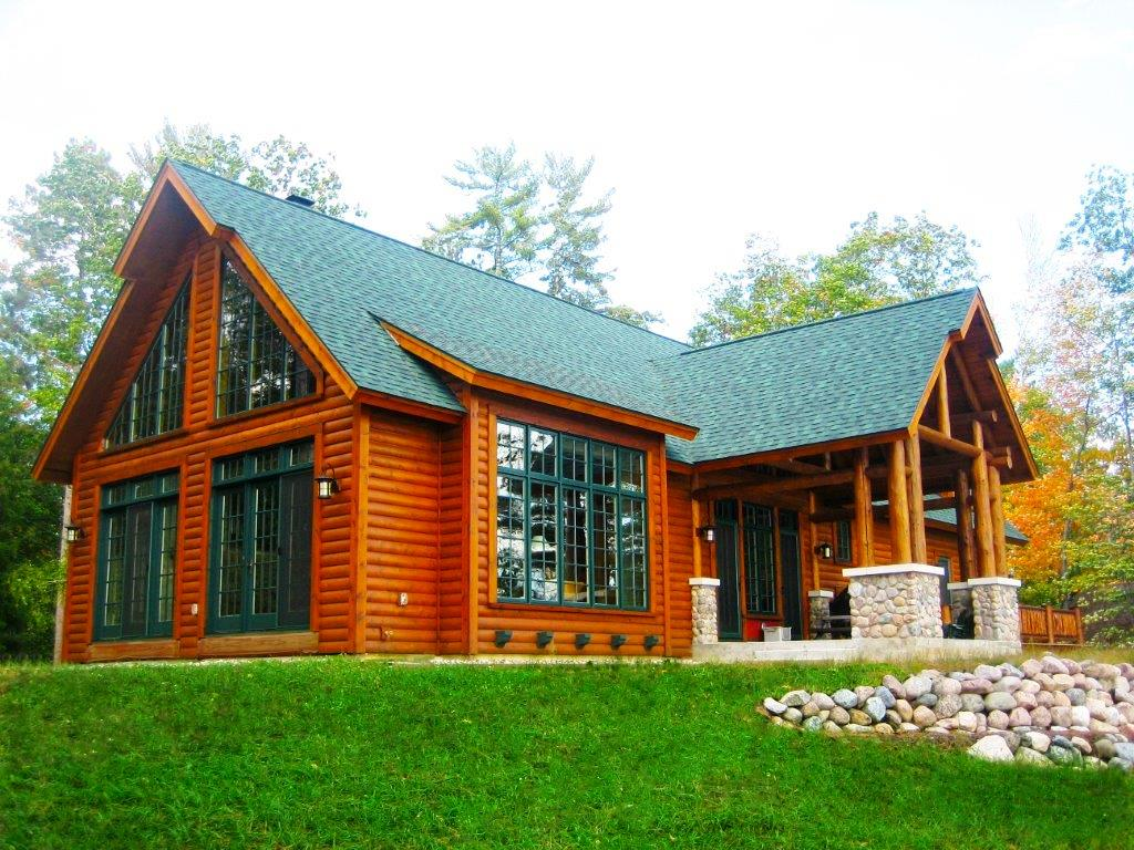 Modular home builder dickinson homes unveils a great new for New log homes