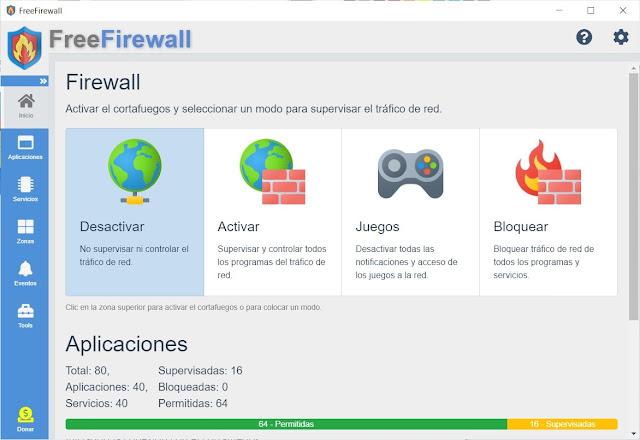 Free Firewall Descargar
