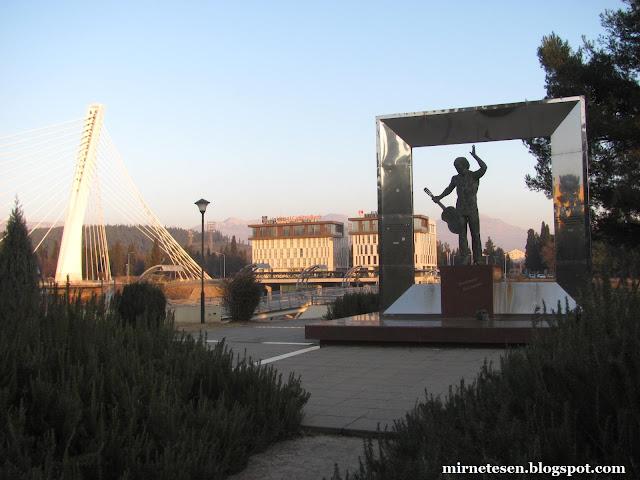 Памятник Высоцкому - Подгорица, Черногория