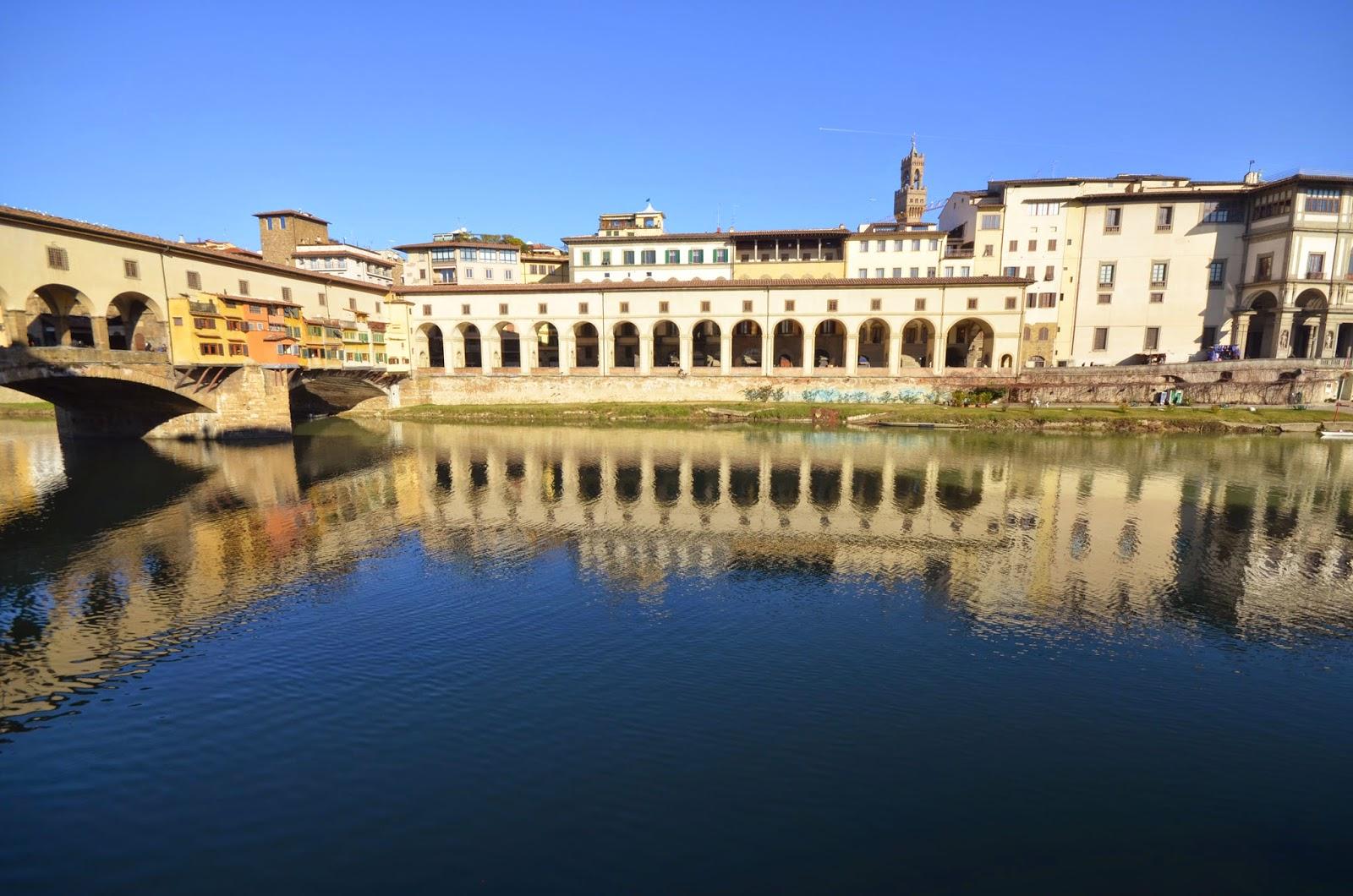 The Vasari Corridor in Florence - KRIZIA in TRAVELLAND