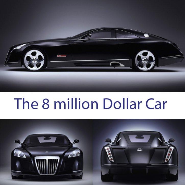 Maybach Car Wallpaper: Luxuries Gadgets (Just 4 You): MAYBACH CAR THE 8 MILLION