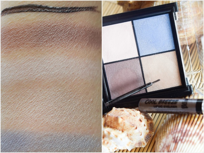 trend IT UP Lidschatten, Liquid Eyeliner, swatch