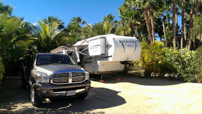 Camped at East Cape RV Park in Los Barriles.
