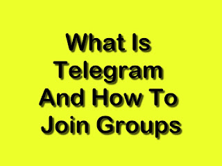 What Is Telegram And How To Join Groups