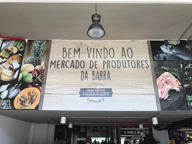Mercado de Produtores, na Barra da Tijuca