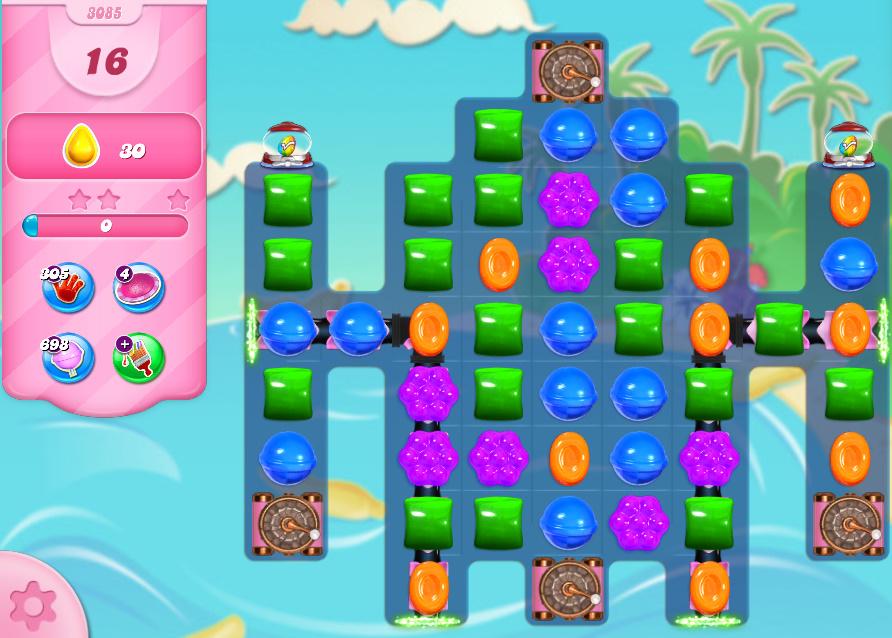 Candy Crush Saga level 3085