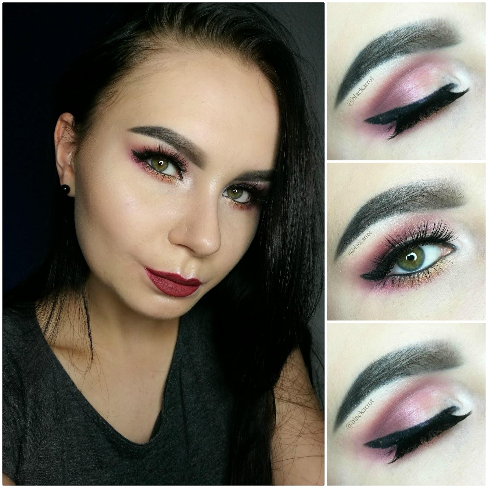 Blackarrot Róż I Kreska Makijaż Krok Po Kroku