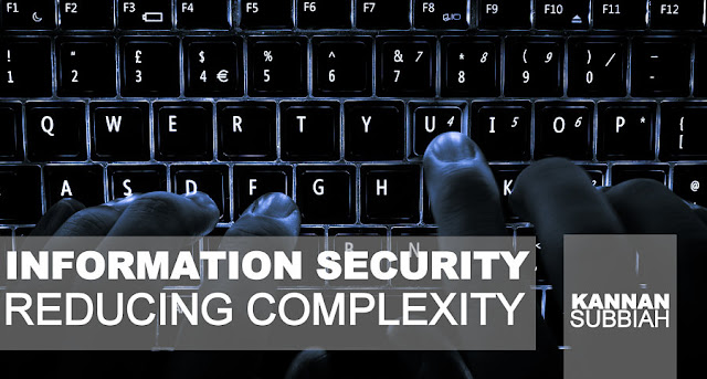IT | Information Security - Reducing Complexity