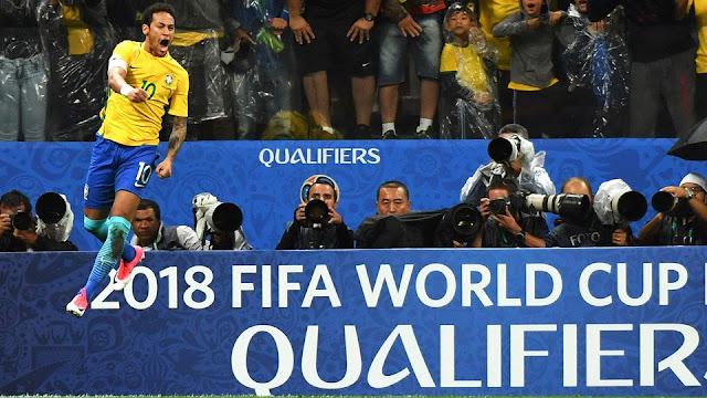 La selección de Brasil se convirtió en la primera en clasificar a Rusia 2018 gracias a la victoria de Perú contra Uruguay en las eliminatorias de Conmebol