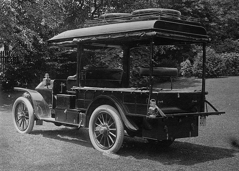 Just A Car Guy: This Stoddard-Dayton camping car was built