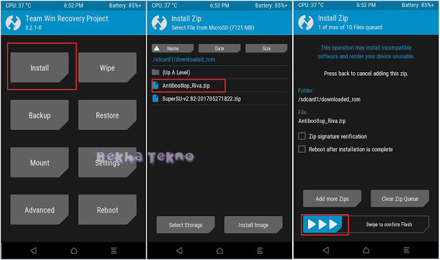 Cara Root Xiaomi Redmi 5 Plus (Vince) Dan Instal TWRP Recovery Lengkap Menggunakan Gambar