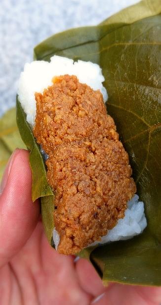 人文研究見聞録:奈良の柿の葉寿司(そぼろ)