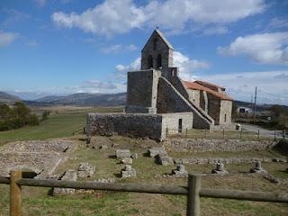 Foro e Iglesia de Sta. María. Julióbriga