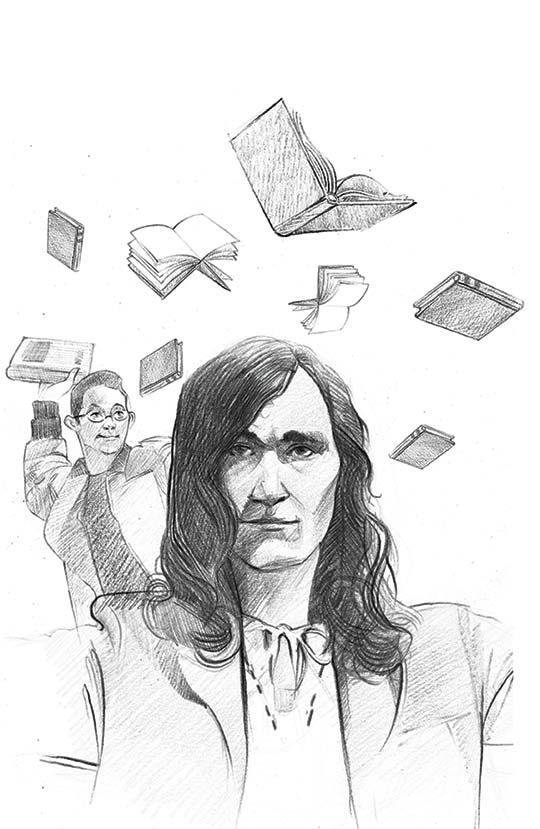 Retrato de Gonzalo Arango por Marco Pinto