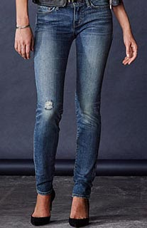 skinny jeans levis mujer