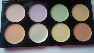 Paleta kolorowych korektorów- jak używać ?