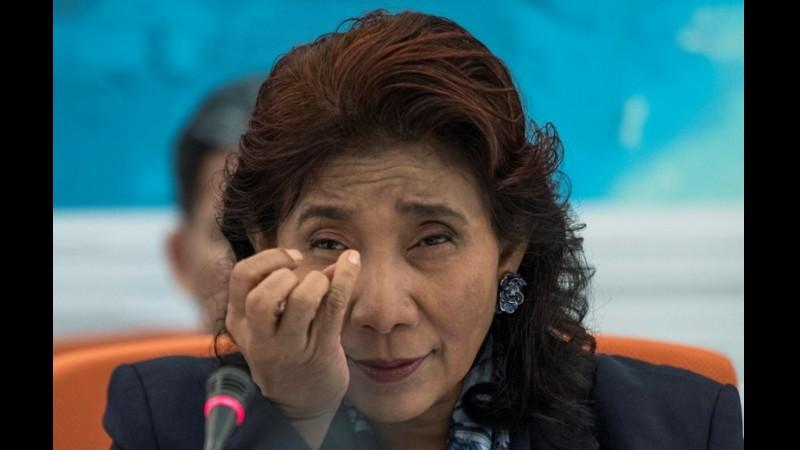 Menteri Kelautan dan Perikanan, Susi Pudjiastuti