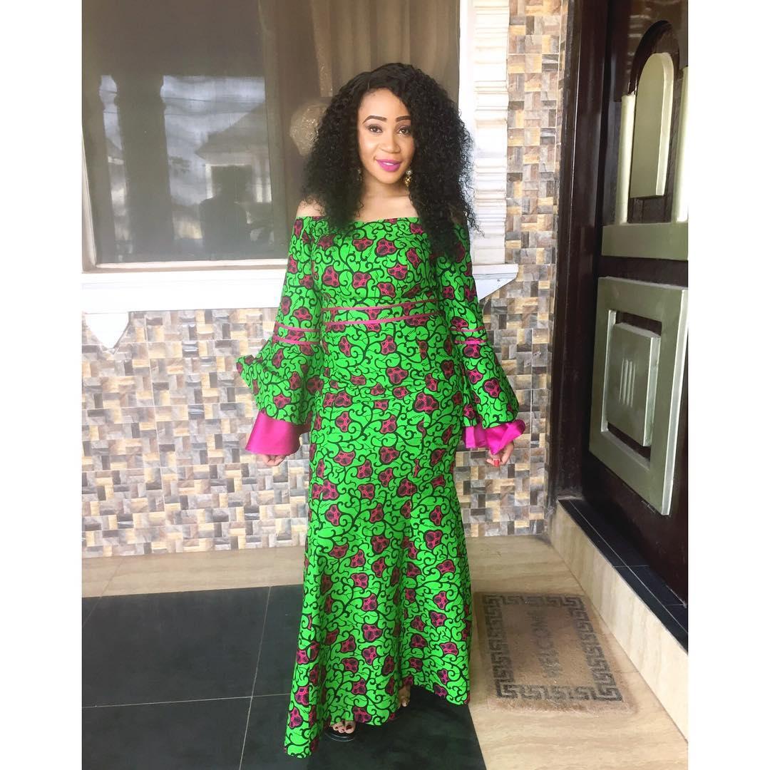 2018 ankara styles for big ladies ankara long gown Latest fashion gown style
