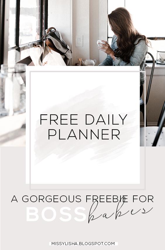 Missylisha Boss Babe Day Planner