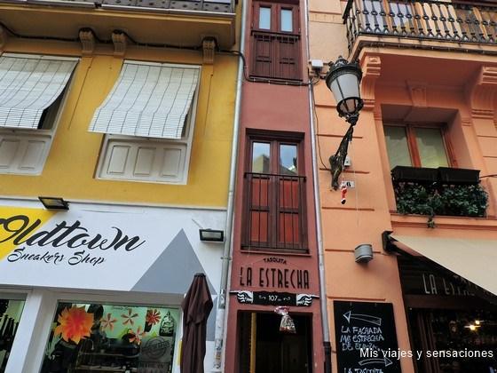 La casa más estrecha de Valencia, Plaza Lope De Vega