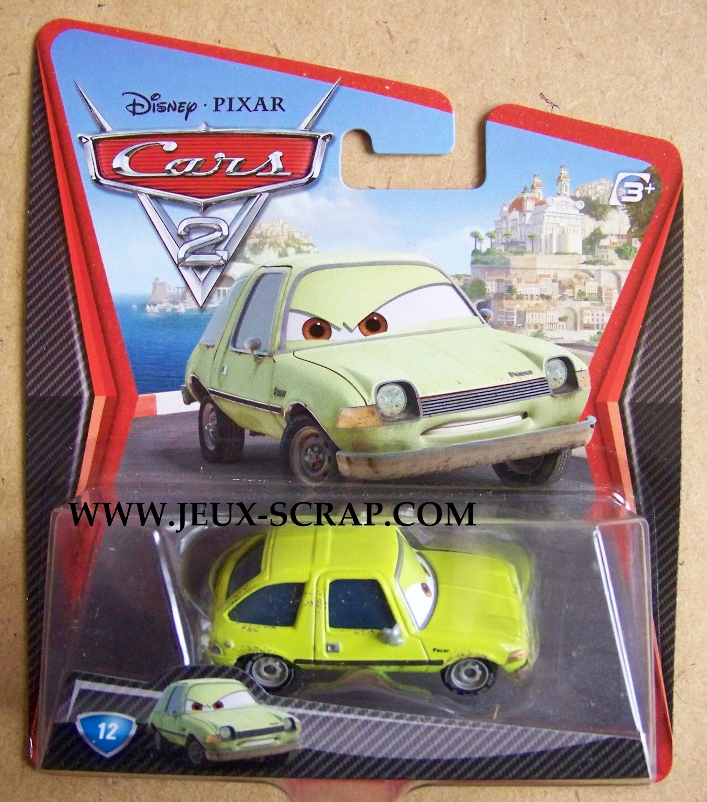 blog boutique jouets jeux scrap voitures cars 2 disney pixar. Black Bedroom Furniture Sets. Home Design Ideas