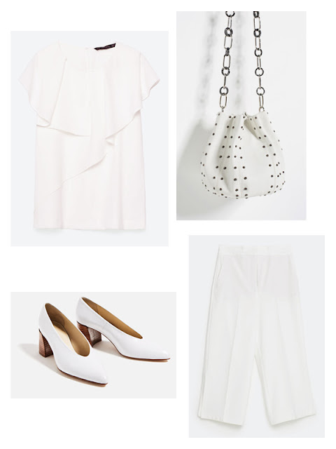 How to wear White after Labour Day Zara Fashion
