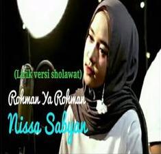 Nissa Sabyan - Rohman Ya Rohman Mp3