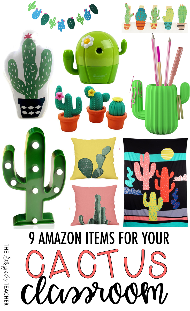 Classroom Decoration Cactus : The designer teacher