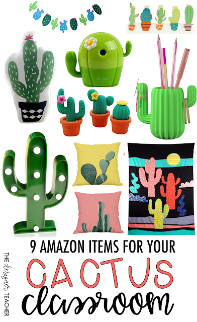 Classroom Decor Items ~ The designer teacher amazon items for your cactus classroom