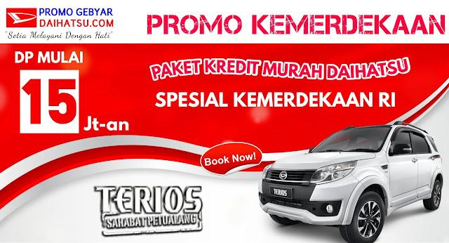 Promo Daihatsu Terios - Spesial Promo Kemerdekaan Agustus 2017