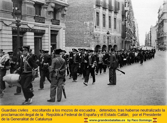 El golpe se debía haber realizado en toda España pero se descubrieron los arsenales.