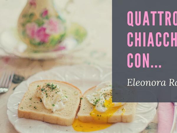 Intervista a Eleonora  Ragozzino