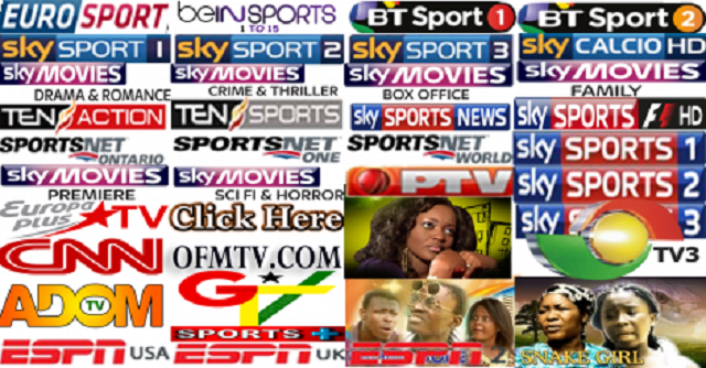 800 IPTV Channels World Wide