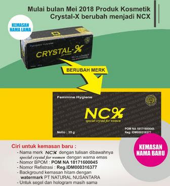 Agen Resmi Jual Crystal X / NCX Nasa Asli Cabang Tulungagung