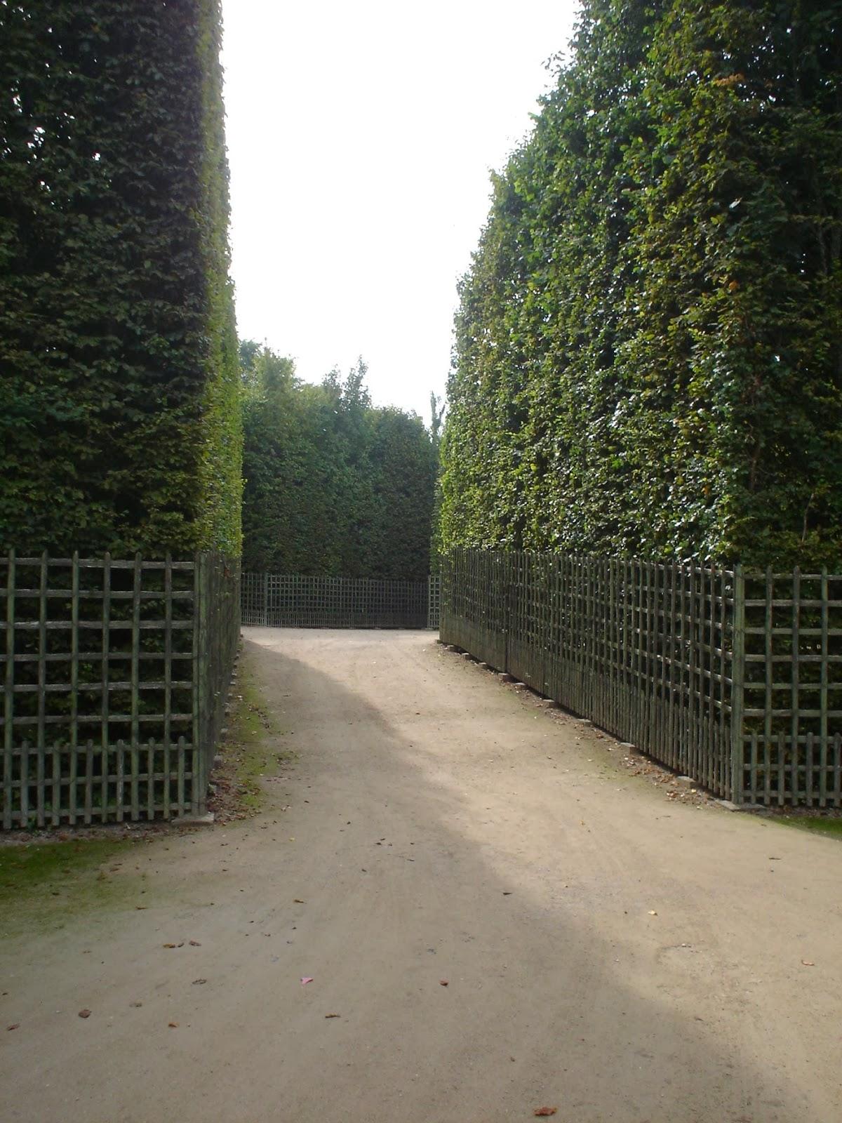 Bludiště v zahradách Versailles