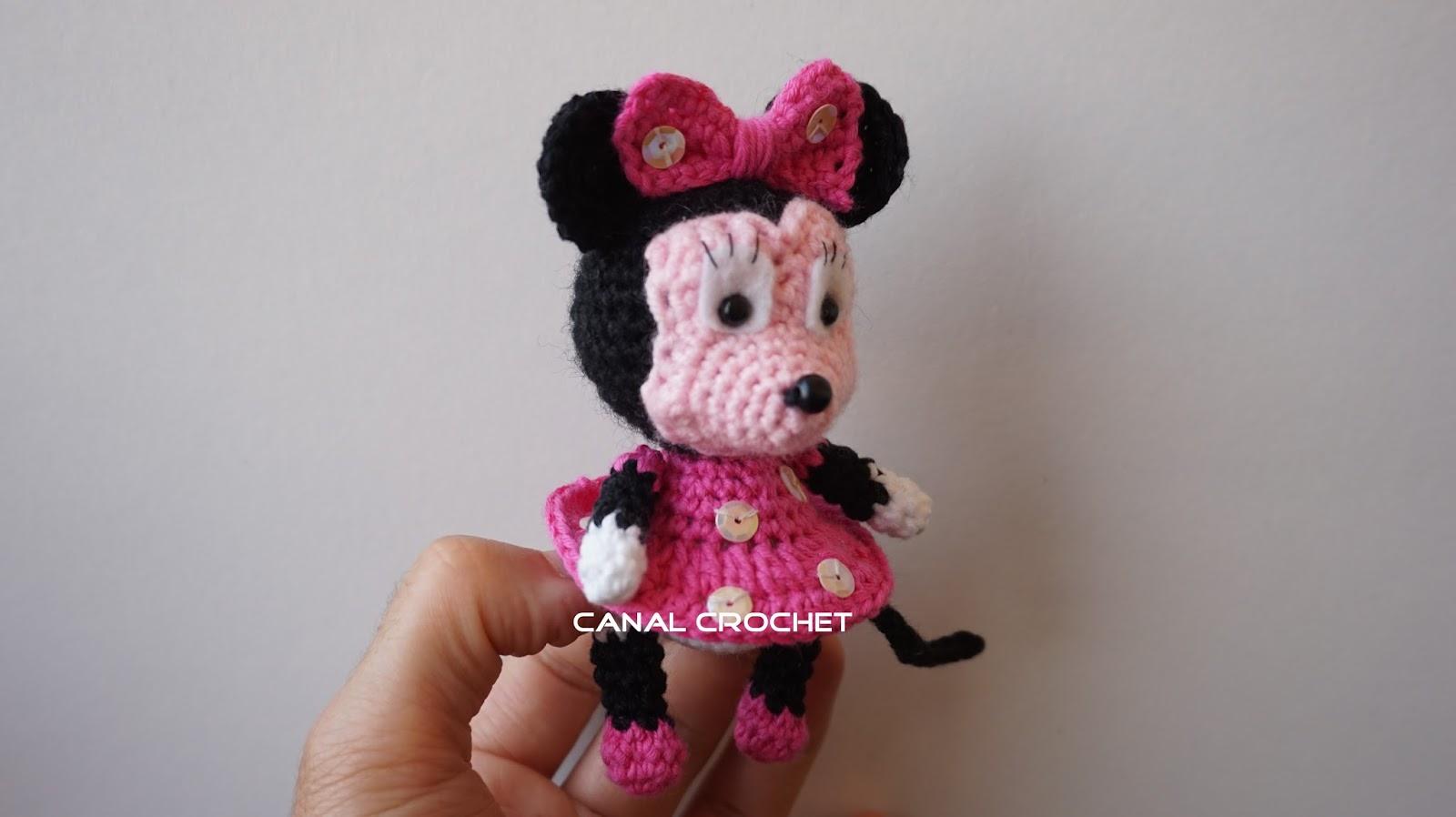CANAL CROCHET: Mickey y minnie amigurumi tutorial
