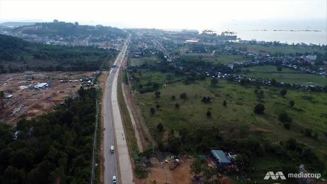 Đường cao tốc nối thành phố Sihanoukville với thủ đô Phnom Penh