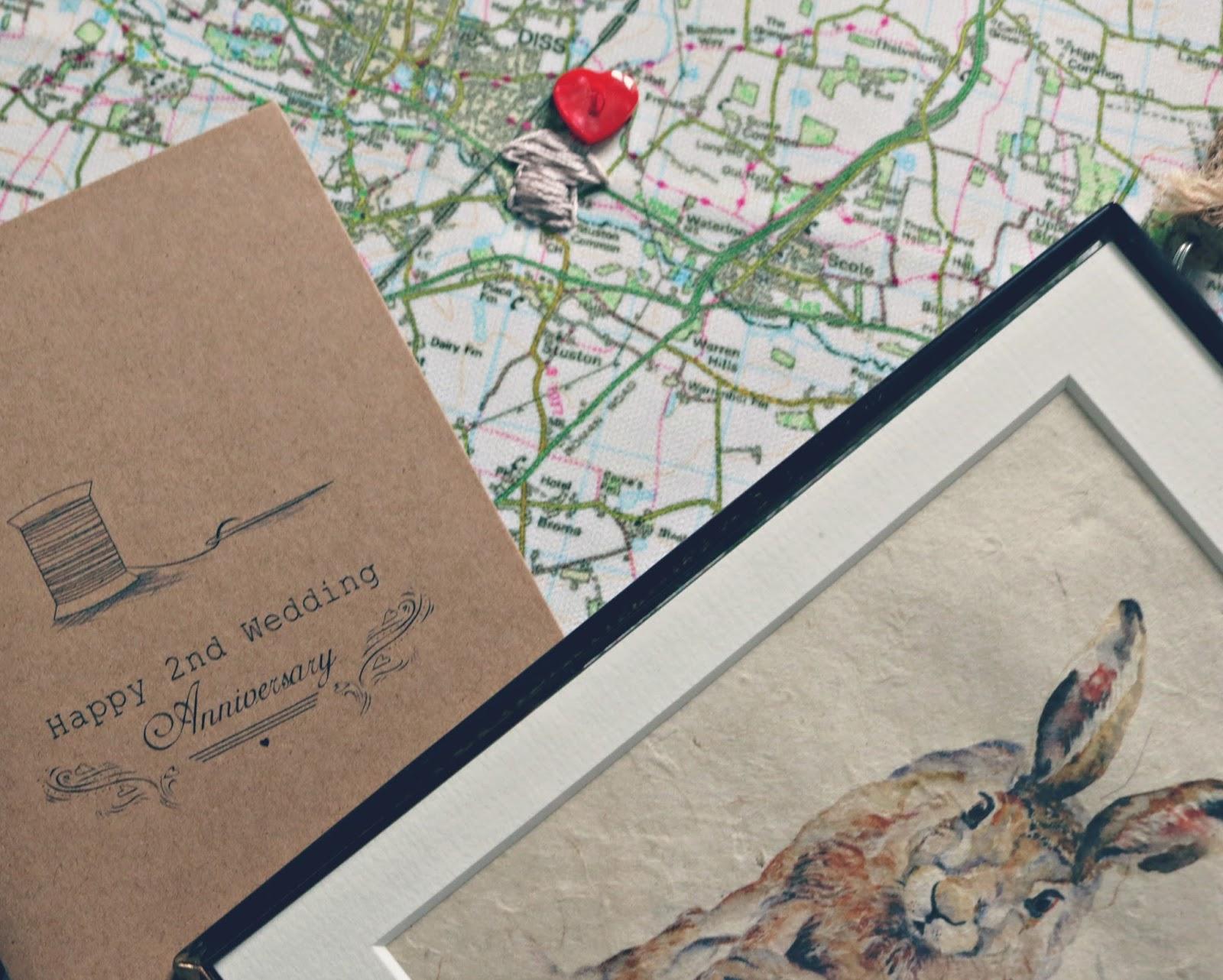 Cotton Wedding Anniversary Gift Ideas