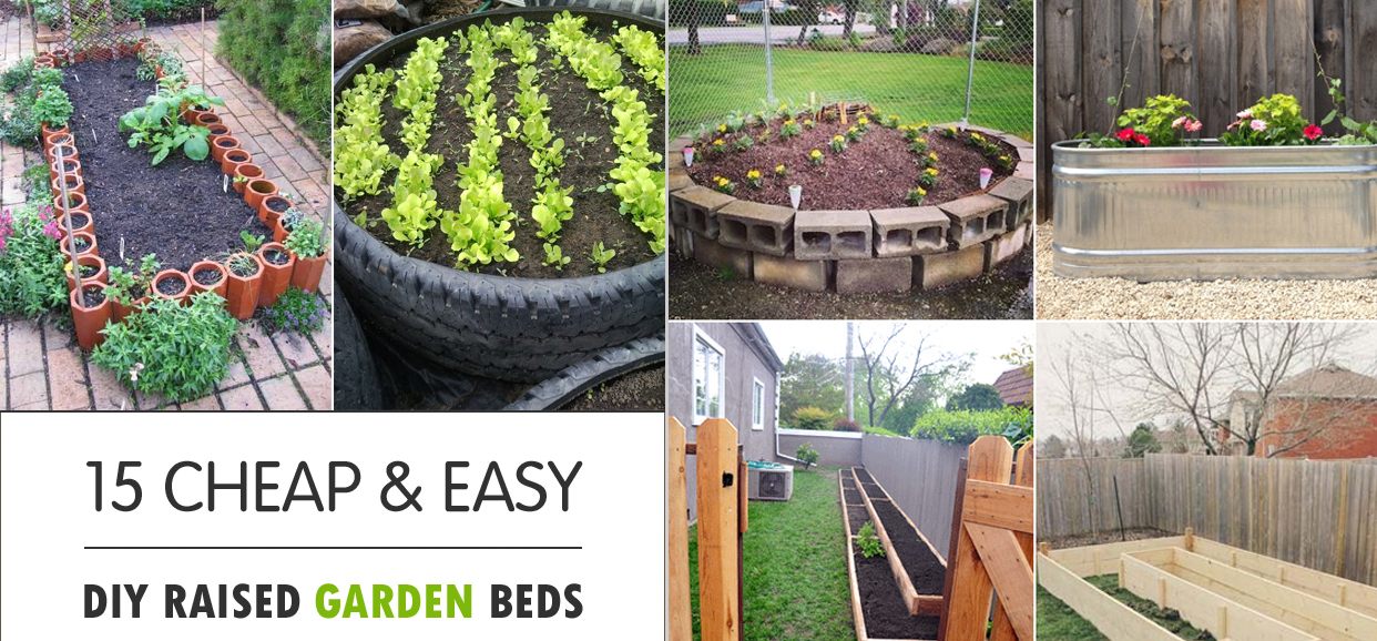 Cheap Raised Garden Beds Raised Garden Beds Make Gardening Easier And More Efficient Hence More