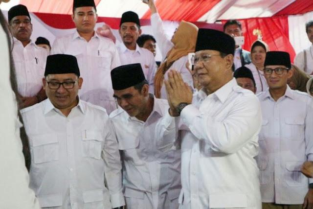 Dideklarasikan Semalam oleh DPD, DPP Gerindra Umumkan: Prabowo Belum Putuskan Nyapres di 2019