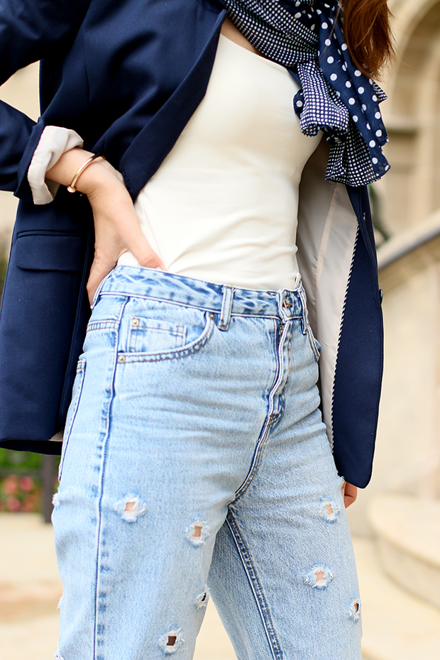 mom jeans-fashion blogger