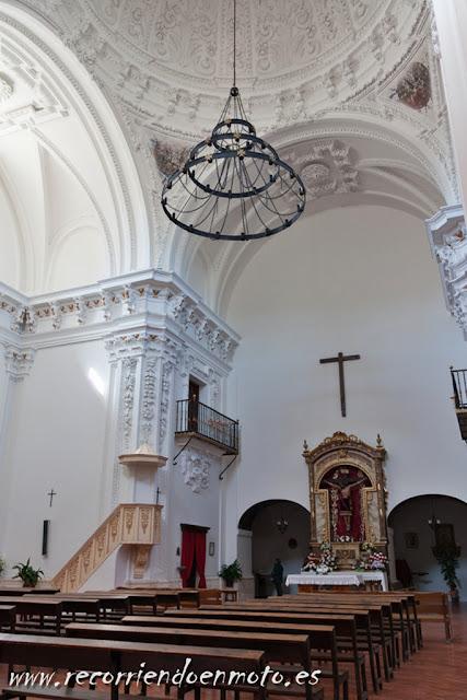 Interior Ermita del Cristo del Valle, Tembleque