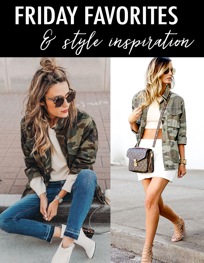 4aae9b8b77009 Daily Style Finds: Friday Favorites, Camo Jackets + Best Finds