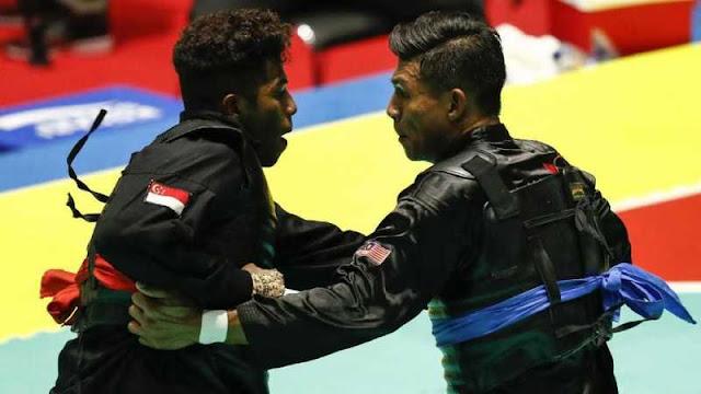 Tendang Atlet Singapura, Pesilat Malaysia Dikecam Publik