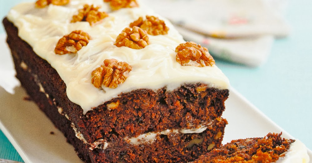 Carrot Cake Loaf All Recipes: Celtnet Recipes Blog: Carrot Loaf Cake With Vanilla